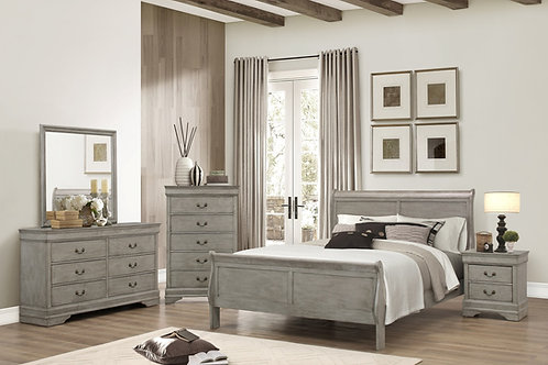 Louis Phillipe 7pc Bedroom Set