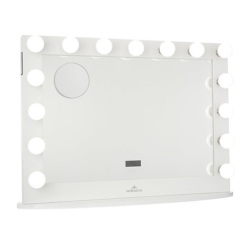 HOLLYWOOD ICONIC PREMIERE PRO VANITY MIRROR WITH BLUETOOTH SPEAKERS in LaredoTX