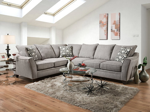 Donte Concrete Collection - Livingroom Furniture in Laredo, TX