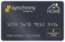 Synchrony Finance Home  Consumer Credit Card