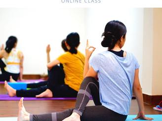 《オンラインLiveクラス》整えるヨガ by Makiko先生