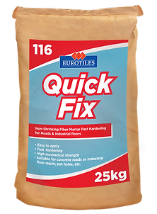 quick fix, non shrink mortar, non shrink mortar mix, repair mortar, repair mortar mix, non shrink fill, fast hardening cement,