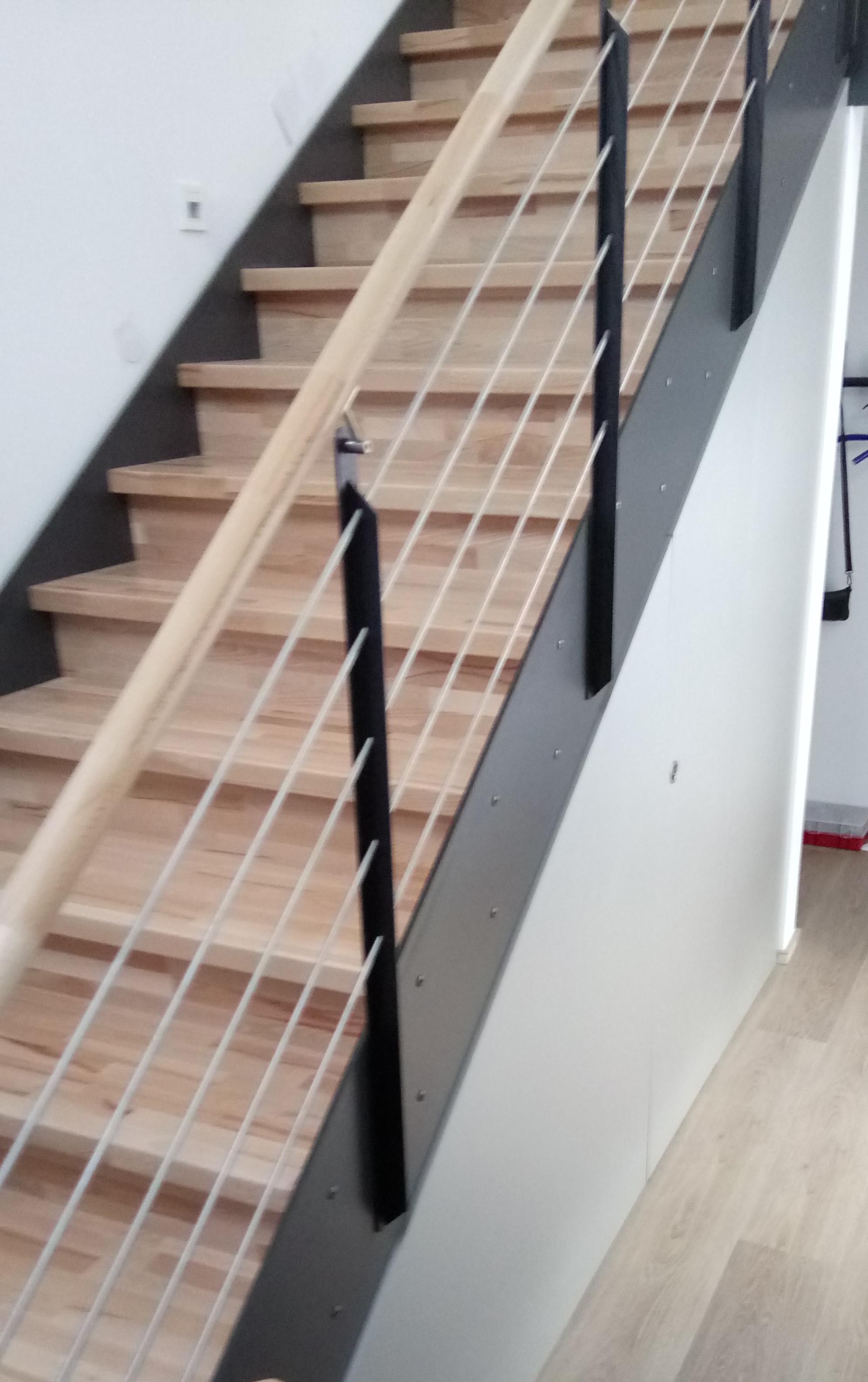 Treppenschrank, begehbar