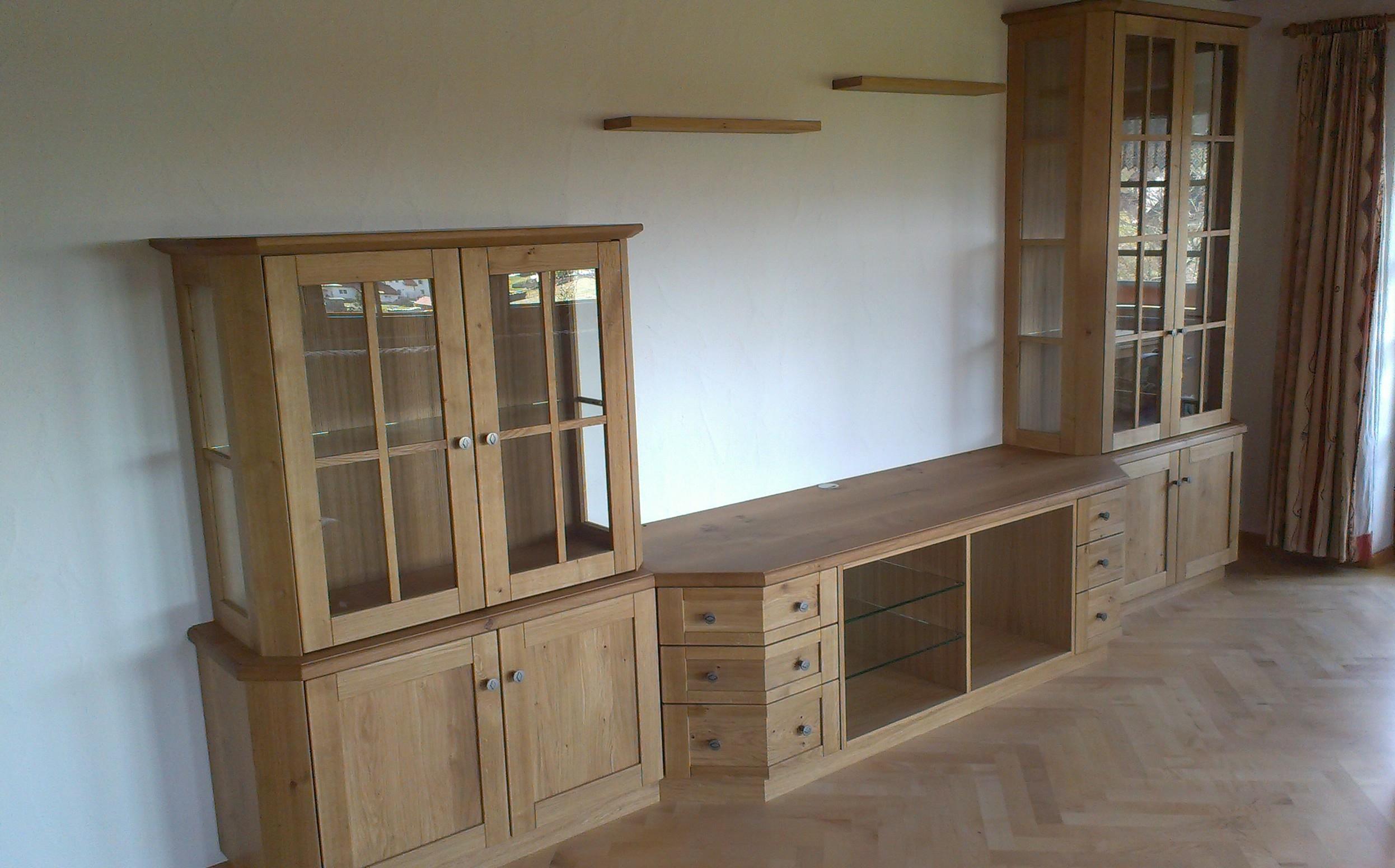 Wohnzimmermöbel, Wildeiche