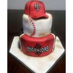 #absolutelycake #baseball #baseballcake #softball #softballcake