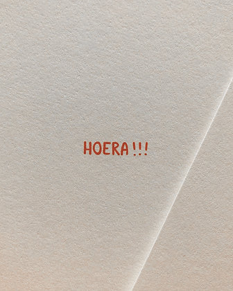 hoera!!!