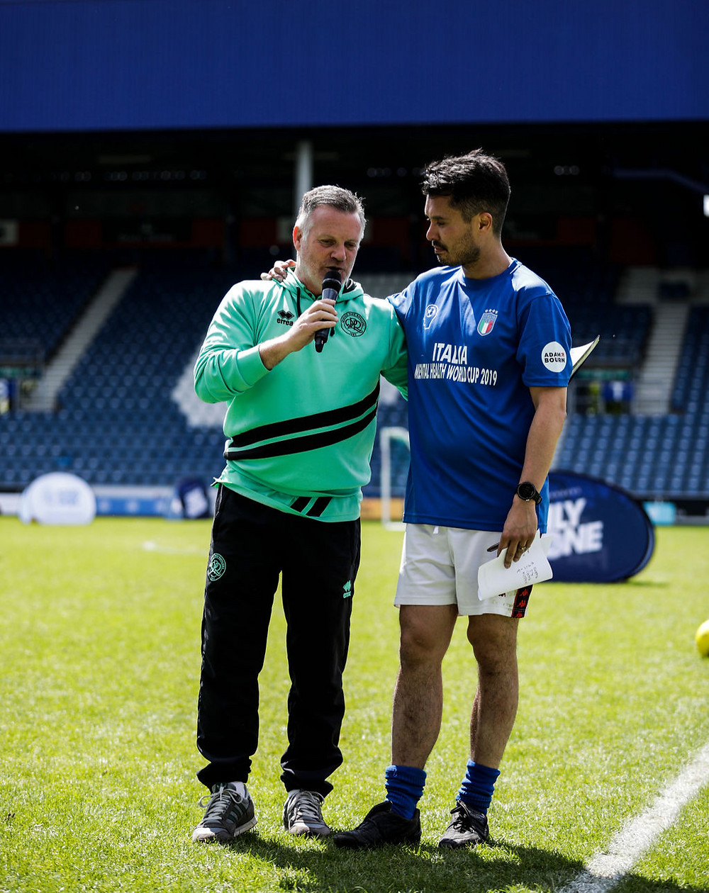 Andy Sinton Mental Health World Cup