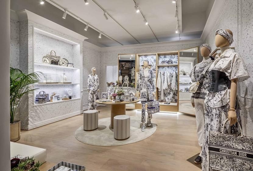 Dior居家服膠囊系列CHEZ MOI於紐約的快閃店