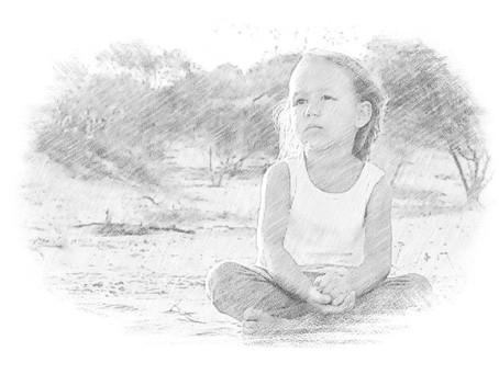 Little Buddha in the Dirt