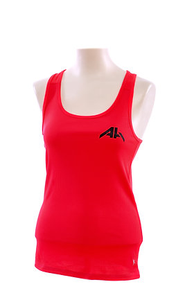 AH™ RACER BACK FITTED RIBBED TANK