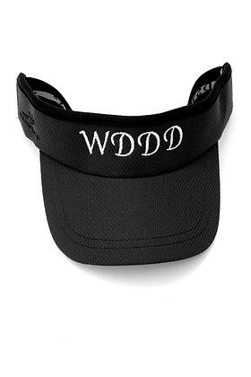 WDDD Black Headsweats Visor