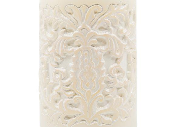 Beutiful White Vanilla Candle