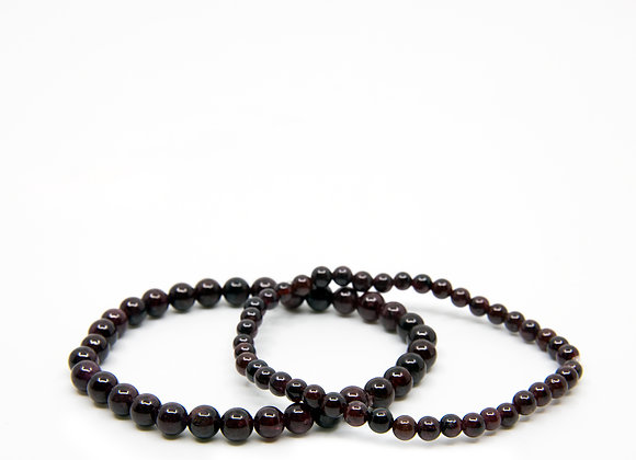 Black Tourmaline Small Beaded Bracelet