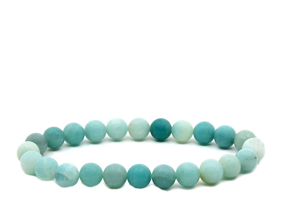 Beutiful Amazonite Beaded Bracelet