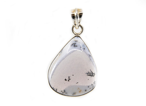 Merlanite Pendent in Sterling Silver