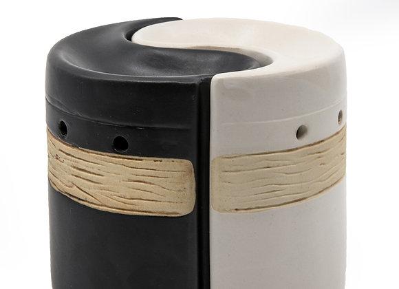 Ying Yang Oil Burner Ceramic