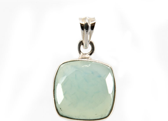 Calcedony Pendent set in Sterling Silver
