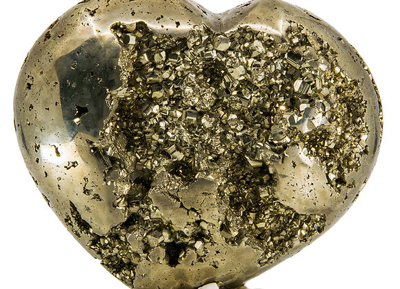 Amazing  Grand Pyrite Heart