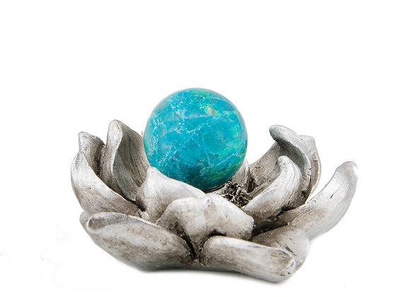 Chrysocolla Sphere