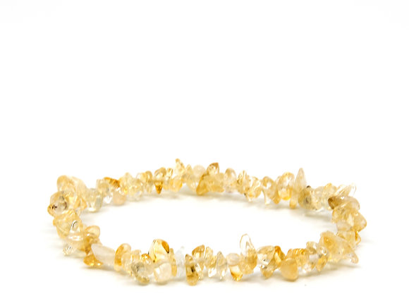 Citrine Chip Braislets