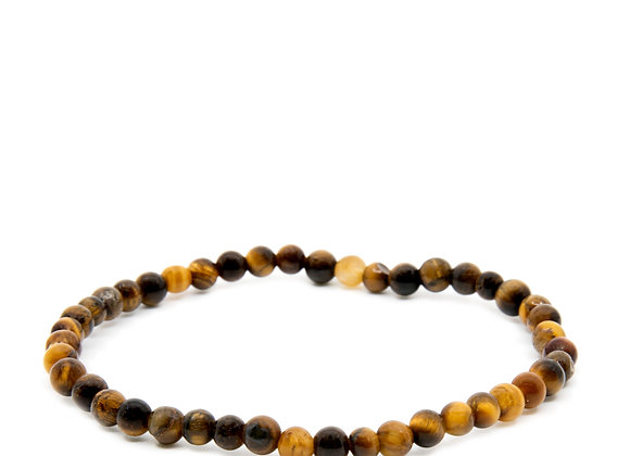 Tiger Eye Beaded Bracelet Small