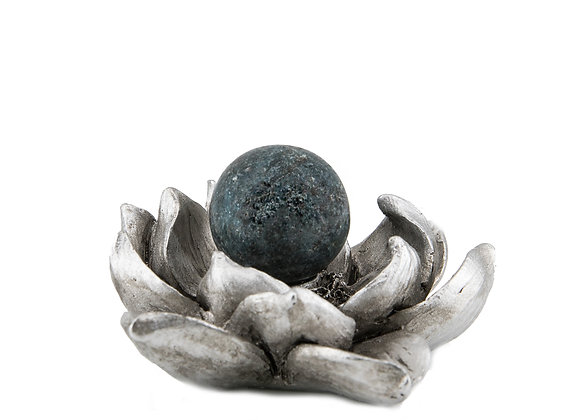 Ruby in Kyanite Sphere