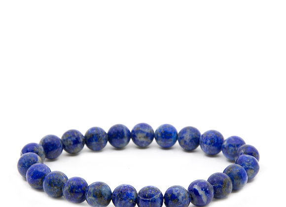 Lapis Lazuli Medium Beaded Bracelet