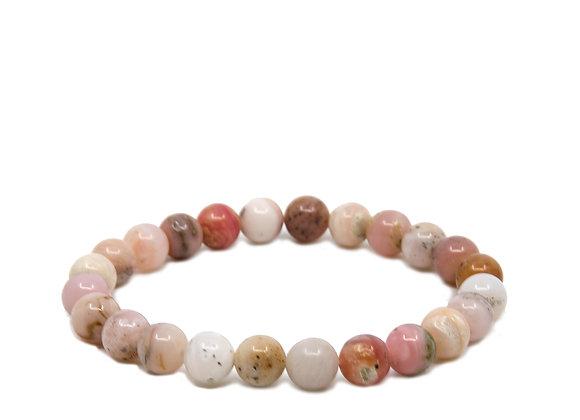 Peruvian Pink Opal Round Bead