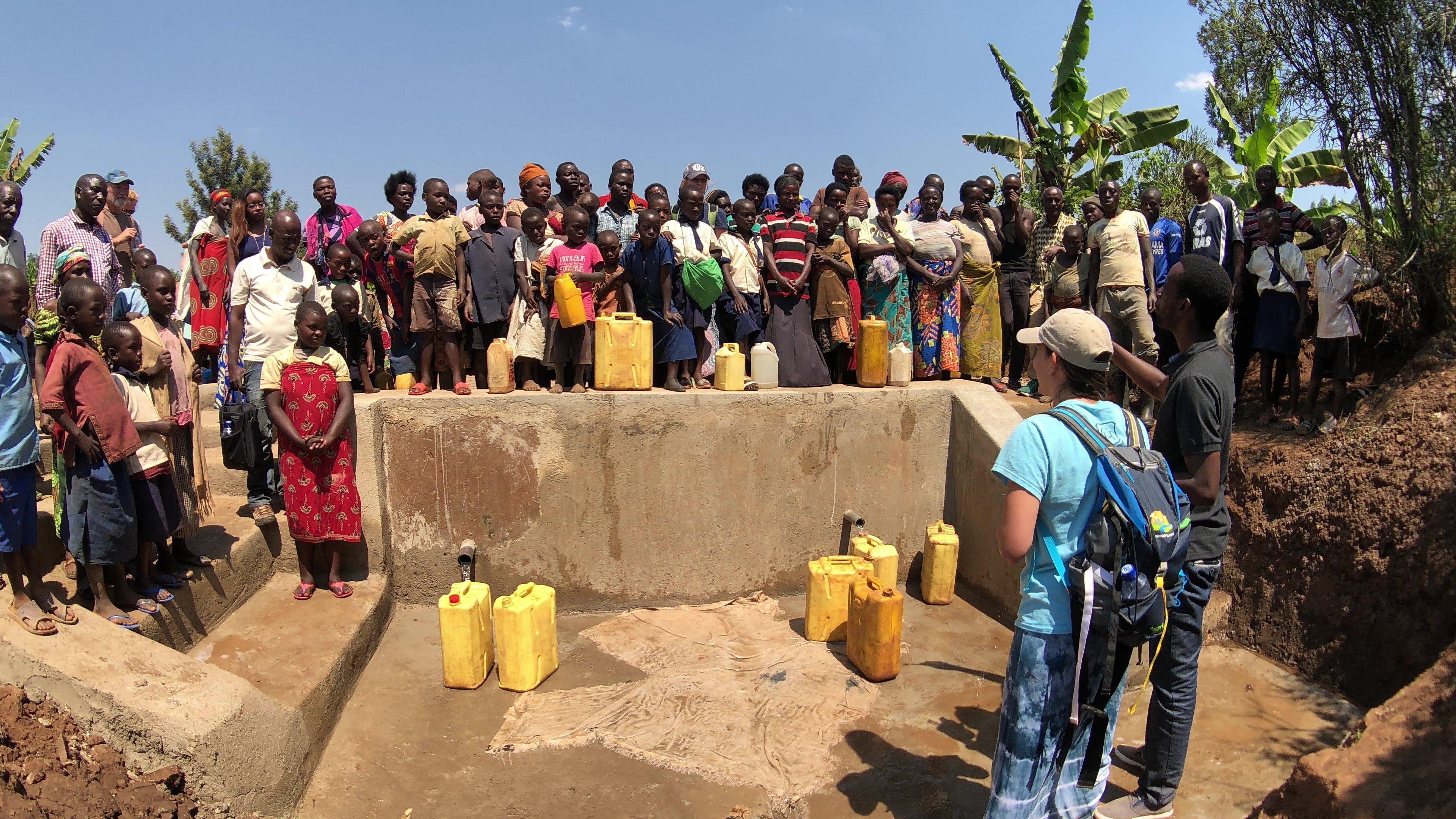 Water Well in Kanazi, Rwanda