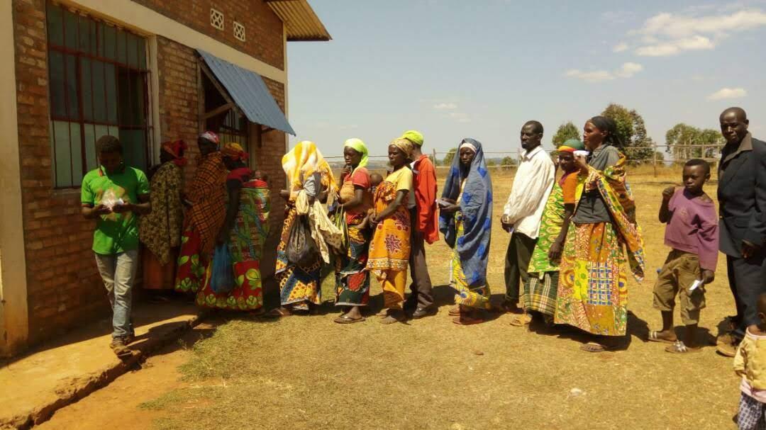 Burundi - Awaiting medical treatment