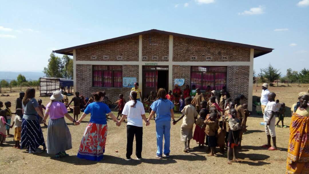 Team Prayer in Burundi