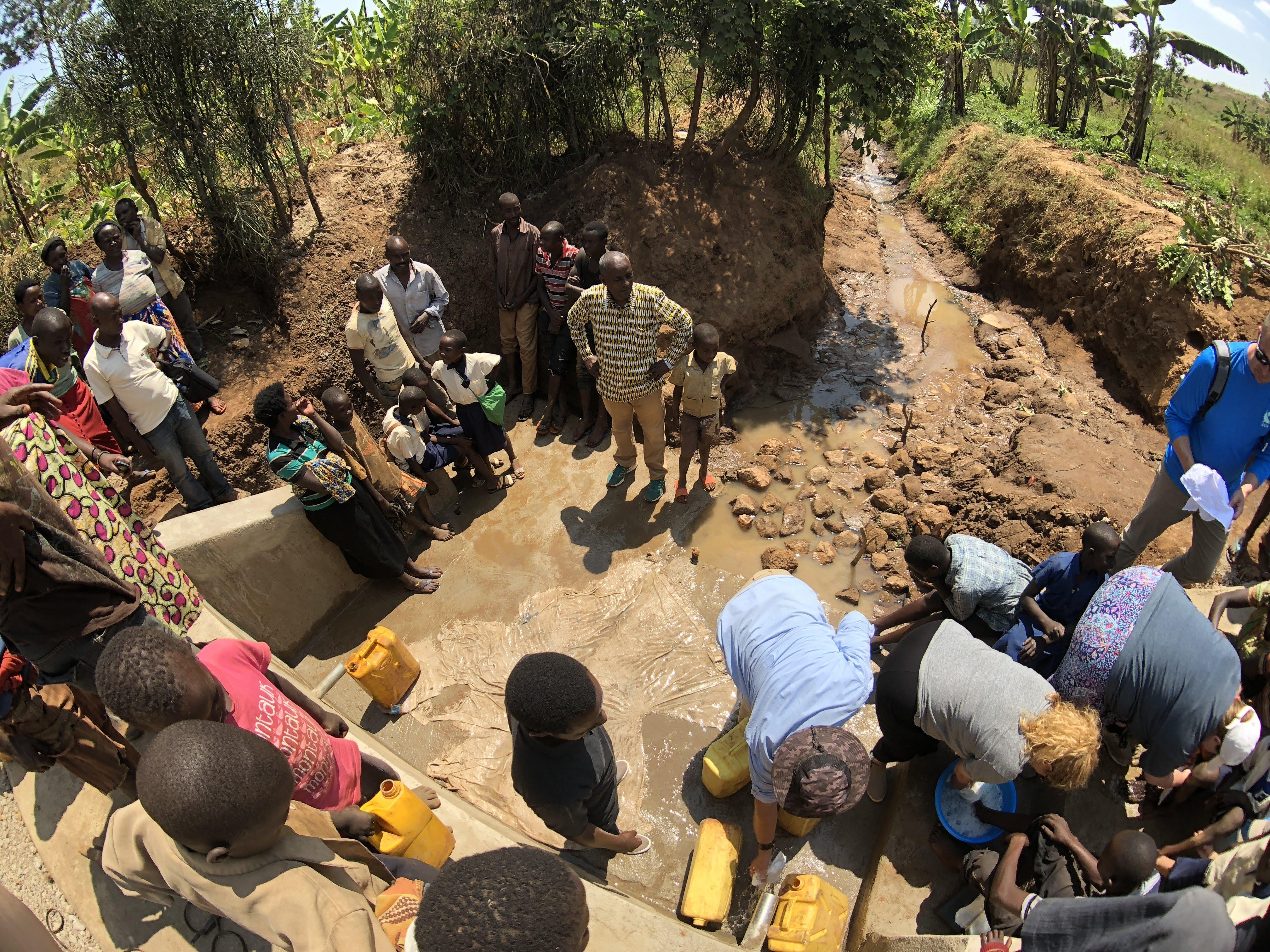Water Well - Kanazi, Rwanda