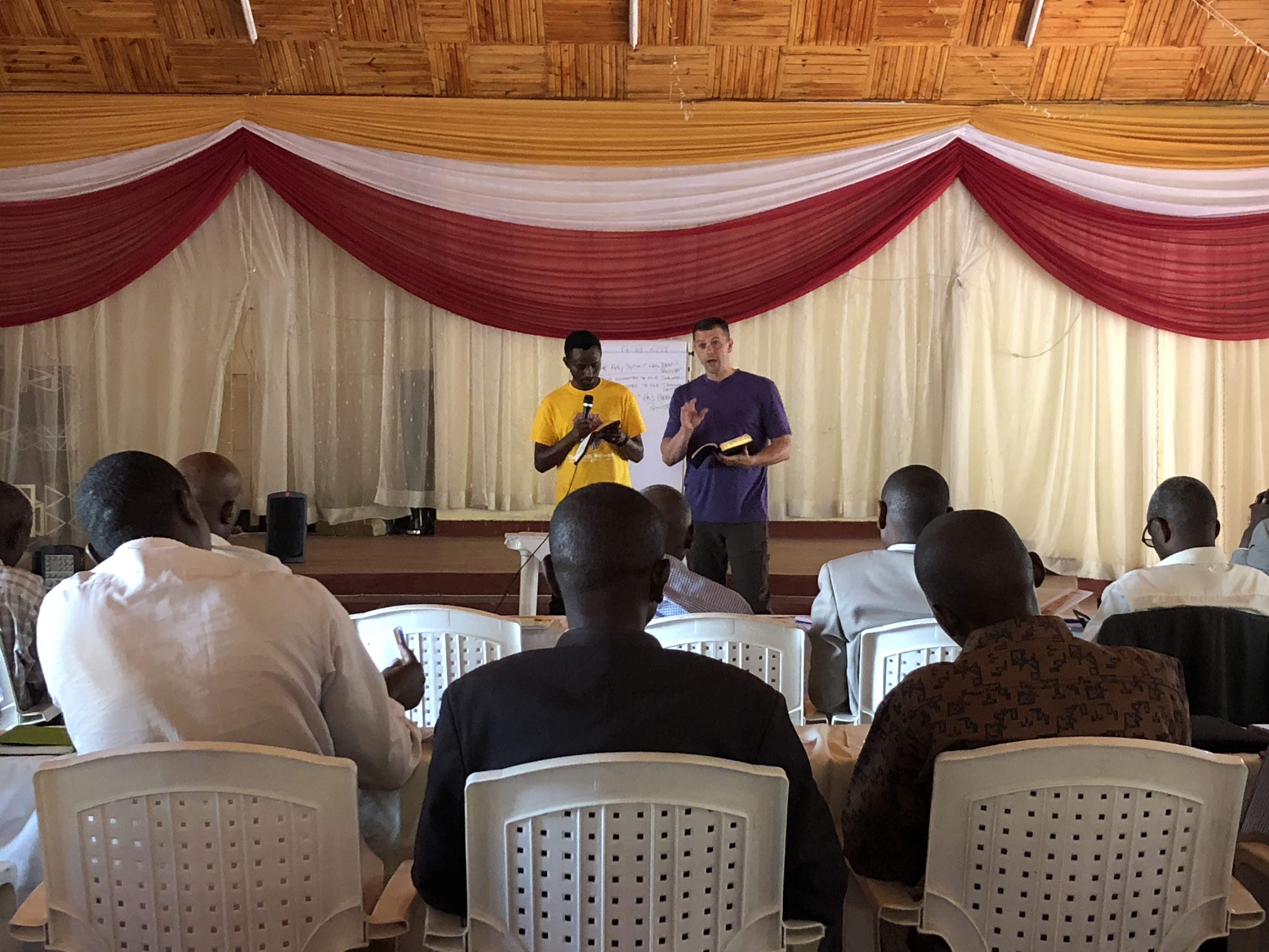 Pastor Training in Rwanda