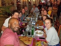 Dinner at The Hut - Kigali, Rwanda