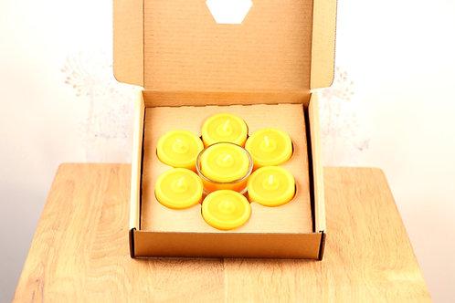 Bienenwachs Teelichter Set