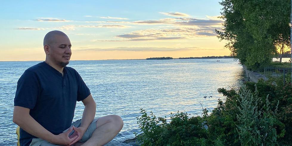 La paix à l'intérieur à travers la  méditation