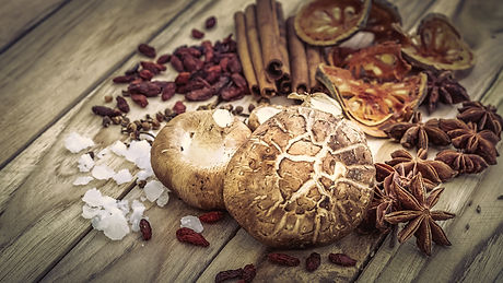Chinese spices, herb and ingredients for