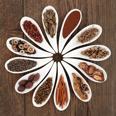 Chinese herbal medicine selection in por