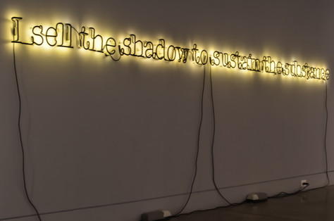 """""""Untitled (I Sell the Shadow to Sustain the Substance)"""" (2006)"""