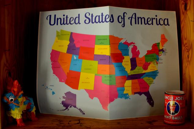 Passing through eleven states