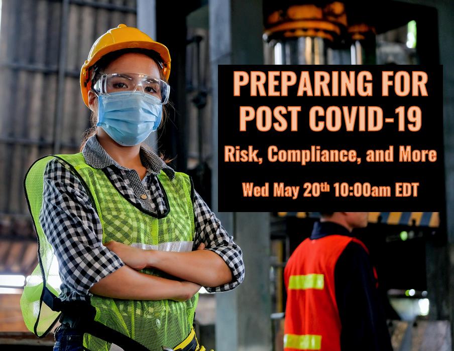 Preparing for Post COVID-19