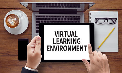 VIRTUAL LEARNING ENVIRONMENT, on the tab