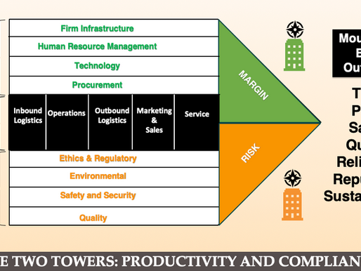 Lord of the Risks – The Two Towers: Productivity and Compliance