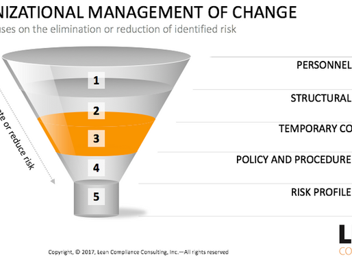 How to Manage Risk during Organizational Changes