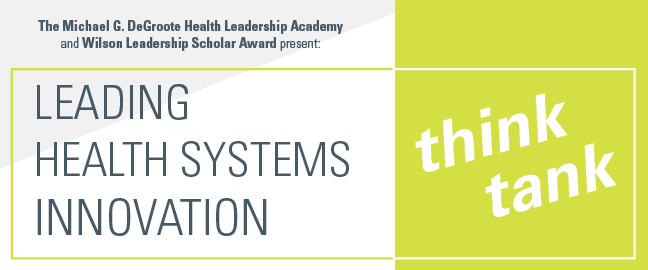 Leading Health Systems Innovation