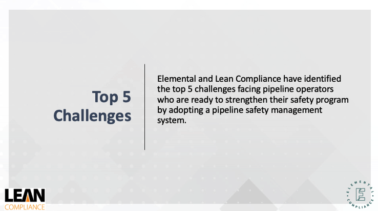 Top 5 Challenges Facing Pipeline Operators Adopting SMS