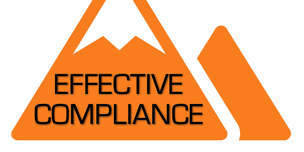 Effective Compliance Bootcamp