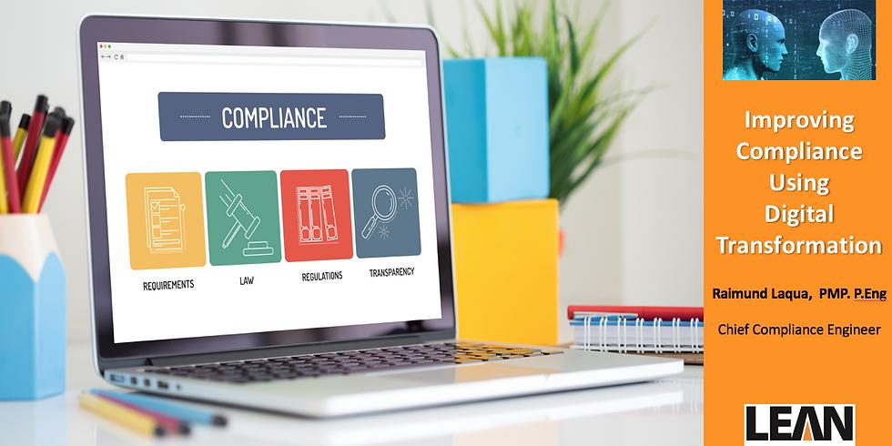 Improving Compliance using Digital Transformation