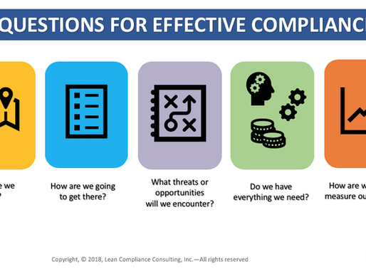 5 Questions You Must Answer to Improve Your Compliance