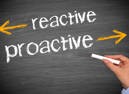Where to Start Being Proactive